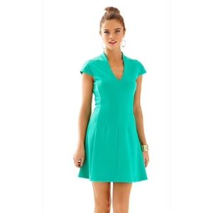Lilly Pulitzer Jewel Green Bree Dress